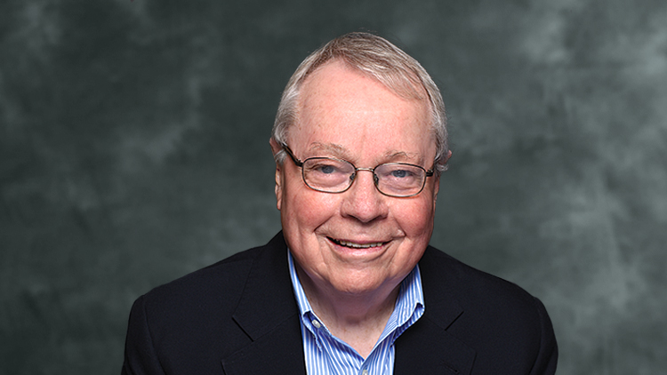 This image is of the Honourable David Crombie, Chair of the NWMO Advisory Council.