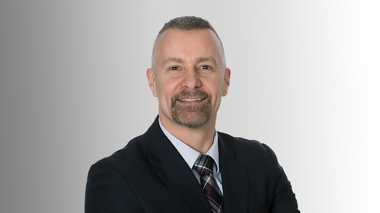 This image is of Darren Murphy, a member of the NWMO Board of Directors.