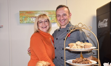 Dave and Veronika Cook of FIG Studio Kitchen in Ripley.