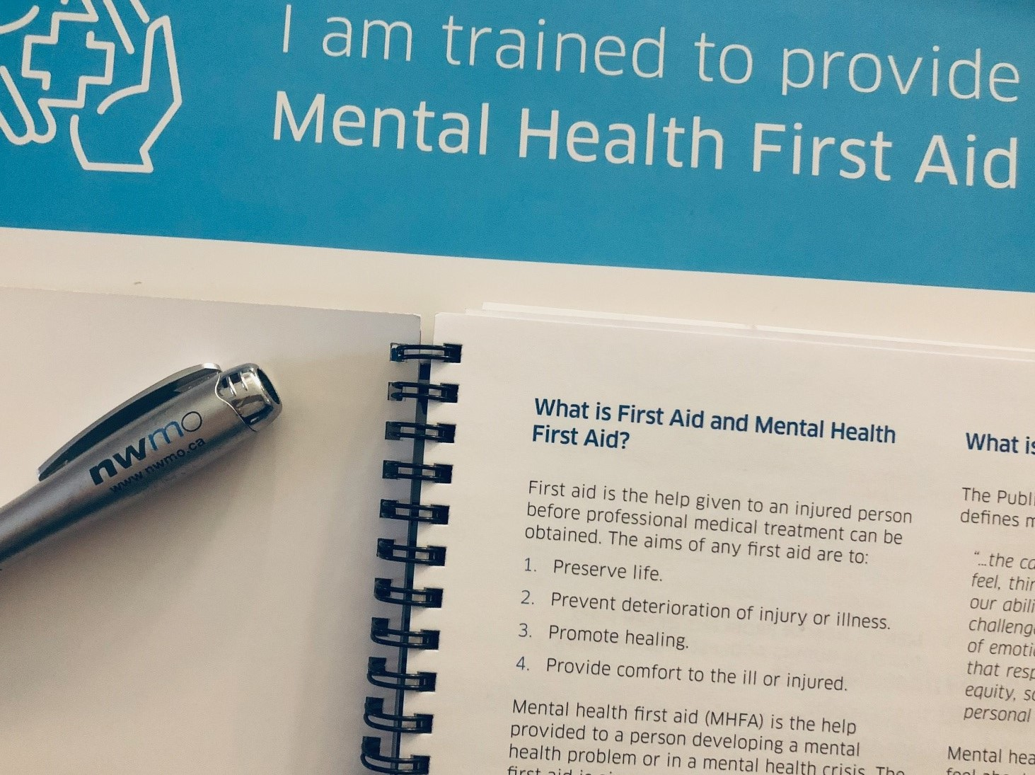 Residents of South Bruce recently took part in a Mental Health First Aid course offered by the Municipality of South Bruce in partnership with the NWMO.
